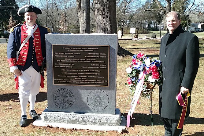 Join us for the 238th Anniversary of the Battle of Cowan's Ford on January 26, 2019 beginning at 10:00am at Hopewell Presbyterian Church in Huntersville, NC.