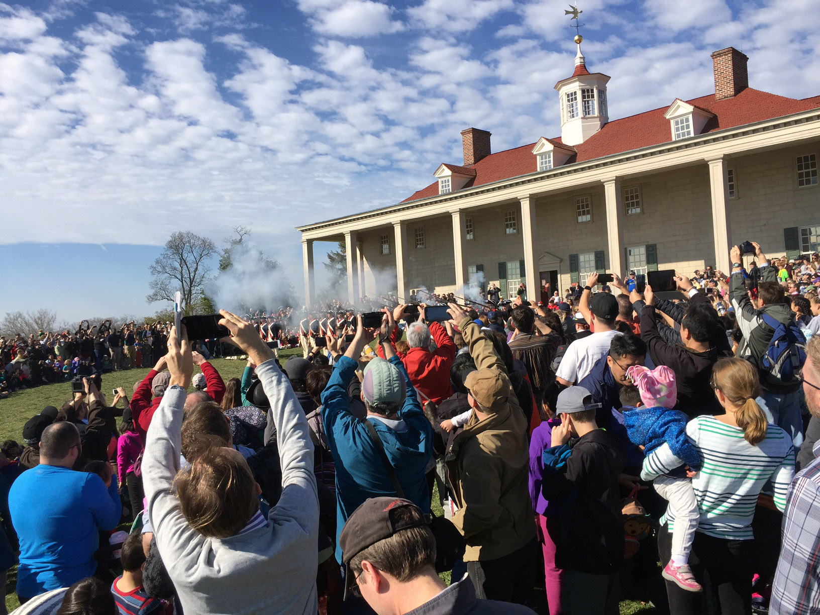 George Washington's National Birthday Celebration at Mount Vernon